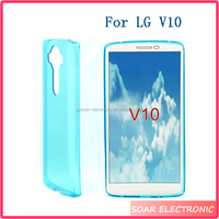 Transparents Pudding TPU Soft Case For LG V10 Case