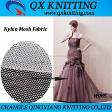 Hot Sale 100% Nylon Mesh Fabric Used Wedding Dress