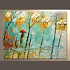 Popular Modern Painting Tree On Walls For Home Decoration