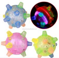 led dancing ball flashing Jumping Music colorful bounce bouncing dance ball plastic skip toy ball