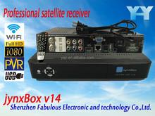 turbo decoder digital satellite receiver hd fta for north america JynxBox Ultra HD V14 free channel full hd stb