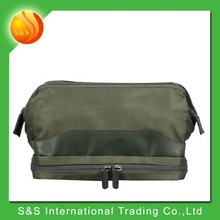 Multifunction polyester stylish travel men cosmetic bag