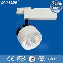 SAA CE RoHS CRI93 innovative 24w 30w adjustable used railroad track lights