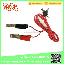 crocodile clips insulated crocodile clips battery clamp alligator clip for Factory direct sale