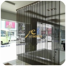 New style Metal Coil Drapery/chain shower curtain