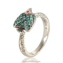 New Design Gold Finger Ring Fish Design Factory Direct RIPY053-8