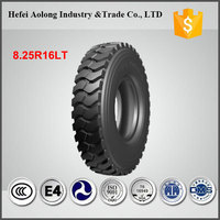 China famous brand bias truck tyre 8.25-16 / 8.25R16LT