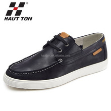 B030 Hautton brazil imported leather men soft casual flat men loafers shoes