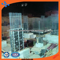 BOFU concrete formwork system, construction formwork, easy make corner walls and cross walls with excellent surface