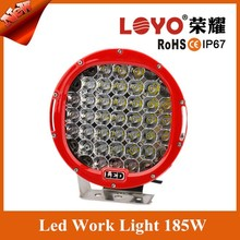 2015 Hot Sale !!!LED Driving Lights 1* 185w Heavy Duty 12/24v Brightest on the Market!