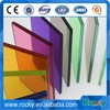 2mm to 19mm coloured tintited glass with CE and ISO high quality colored glass