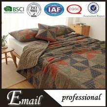 Cheap floral pattern patchwork vintage design 100%cotton bed sheet set