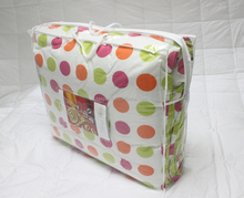 Hot selling PVC material blanket/quilt/ bedding packaging bag