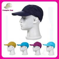 High Standard Factory Promotional quick dry sports caps stylish lightweight baseball cap