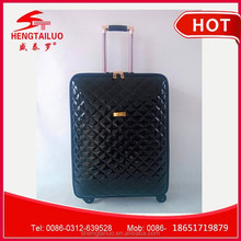 wholesale leather luggage luggage with removable wheels rolling luggage