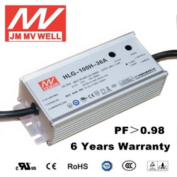 constant current dimmable led driver 100W waterproof IP65 36v 48v with 6 years warranty UL TUV CB CE RoHS CCC EMC