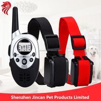 Remote Control Rechargeable Electronic E-Collar Very Safe Pet Dog Training Shock Collar with Strong Vibration for Small, Medium