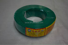 4mm 450/750V PVC insulated copper wire , electric house wire , cable wires