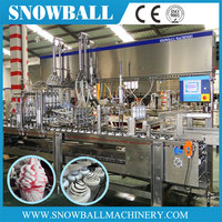 magic cup ice cream, automatic ice cream cone filling and packaging machine, cornetto Ice Cream Maker