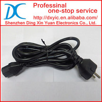 CORD 3COND M/F EURO UNSHLD 3M IEC 884/CEE7-VII to IEC 320-C13 AC Power Cord Cable