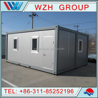 20ft flat pack container house/prefabricated container house/container houses for sale