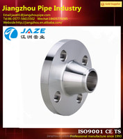 stainless steel forged asme b16.5 wn ff flange