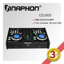 HOT SALE Professional DUAL DJ CD/USB/SD/MP3& Mixer Player CDJ-500