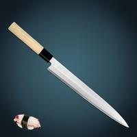 kitchen knife High carbon stainless steel 210mm length Slicing knife/Yanagiba/Sashimi/Usuba knife