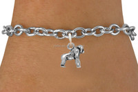 new product wholesale fashion silver florida panther charm bracelet (SZ184382)