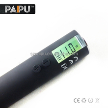 Most variable voltage vaporizer Ego vv3 with LCD displayer 510 battery variable voltage
