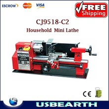 mini lathe machine CJ9518-C2, mini Household lathe , mini lathe for office and home work