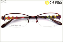High Quality Faddish Red Design Latest Ladies Optical Frames/Eyewear Frames/Spectacles Frame