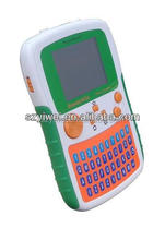 Handheld Keyboard kids computer toy to learn ABC,Number,Logistics,Art,Music etc