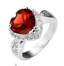 925 joyas de plata al por mayor, anillos de boda, SR0092G