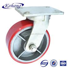 heavy duty pu / nylon / rubber caster with 6204 ball bearing ,Super Heavy Duty Caster