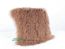 Wholesale Tibetan Mongolian Lamb Fur Pillow Cover