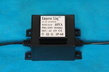 Waterproof 110V/240V 60w led strip light led driver 24v led transformer