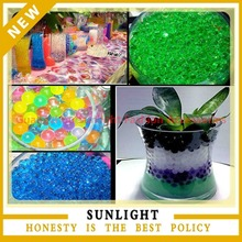 Beautiful Water beads for Wedding Vase Centerpiece with Cystal Soil
