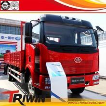 EURO 5 discount price CA1160P62L4E1M5 180hp 10 ton LNG medium cargo truck