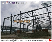 steel building for large warehouse and light steel living house