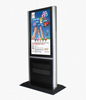 Low price bank lcd broadcast displayer HDMI/VGA/USB/sd cf card with free software