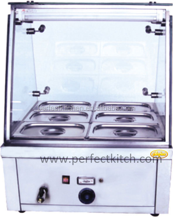 6 pan buffet hot bain marie restaurant equipment bain for Equipement hotellerie restauration