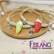 hotsale ceramic bracelet jingle bell bracelet