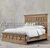 Antique recycled wood bed/solid wood bed