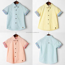 Wholesale custom cotton chilrdren clothing summer baby boys t-shirt kids shirt for 2 3 4 5 6 7 8 9 10 years old
