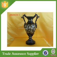 ODM/OEM Supplier Golden Flower Vases Resin