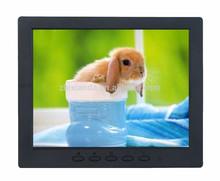 8 pulgadas profesional cctv fabricante de monitores lcd seguridad del monitor con entrada bnc 8 pulgadas del monitor