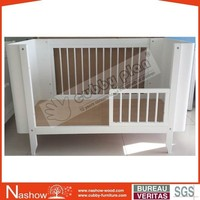Cubby Plan LMBC-004 U Shape New Convertible 3 in 1 Nursery Cot Bed Wooden Baby Crib