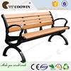 Long lifetime waterproof outdoor garden bench