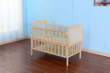 Wooden baby crib/bed New Zealand pine wood, Europe / USA style